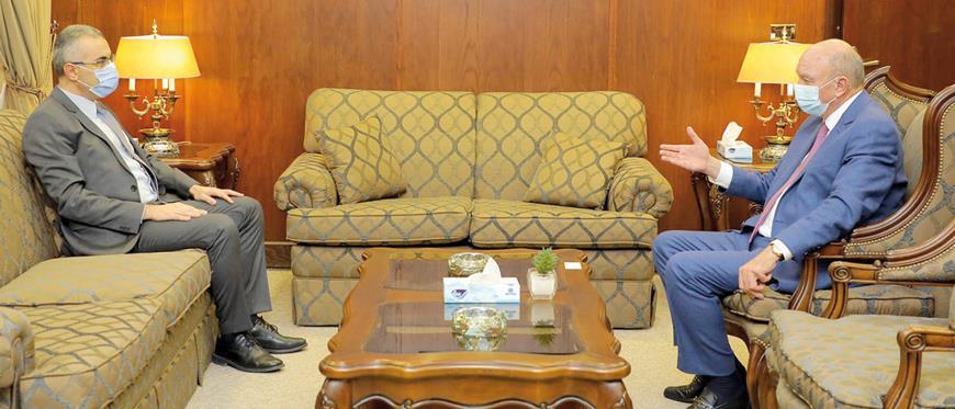 Ιορδανία – Πρόεδρος της Γερουσίας, πρέσβης της Κύπρου
