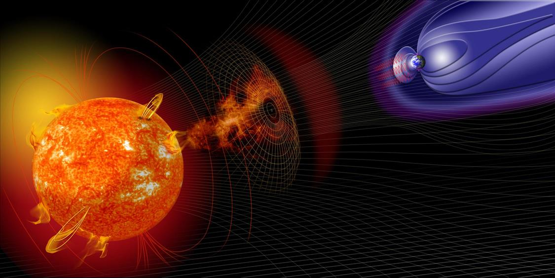 We found the first Australian evidence of a large shift in the Earth's magnetic poles.  It may help us predict the following