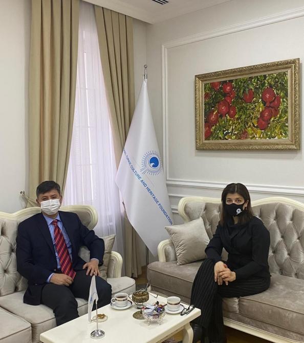 Турецкий фонд наследия и культуры расширяет отношения с Кыргызстаном [PHOTO]