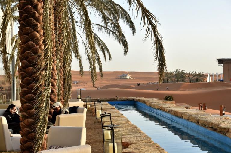 Luxury oasis draws elite Saudis locked in by pandemic | MENAFN.COM