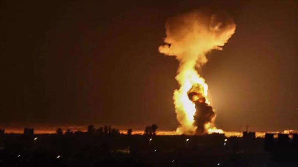 Israeli warplanes conduct fresh airstrikes against positions... | MENAFN.COM