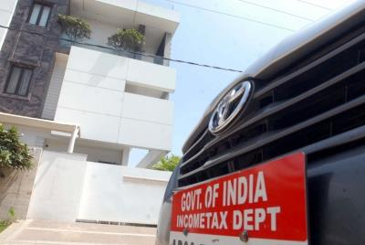 Income Tax Dept conducts searches on prominent Nagpur figur...