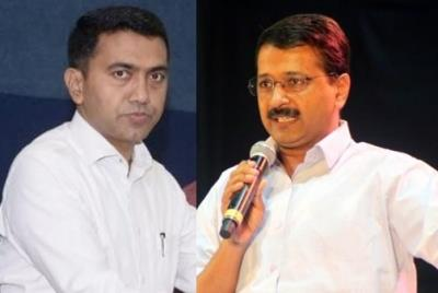 Goa CM dares Kejriwal to contest from Sanquelim Assembly se...