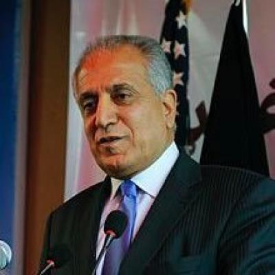Khalilzad says US should have pressed former Af Prez Ashraf...