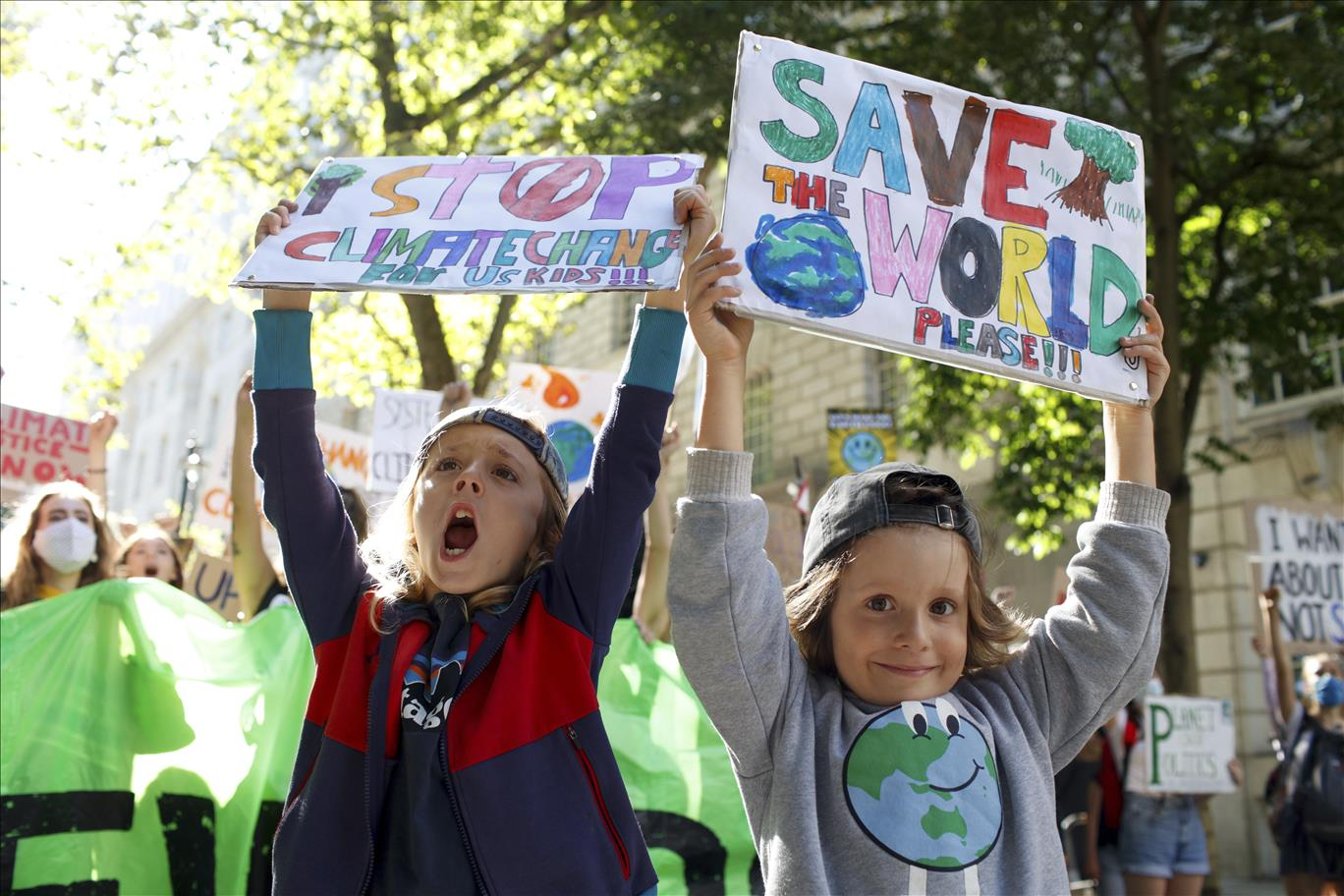 A successful COP26 is essential for Earth'   s future. He...